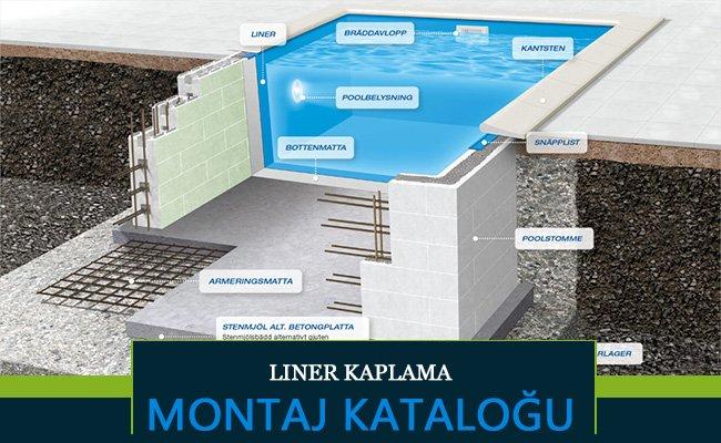 liner kaplama montaj - Havuz Montajı