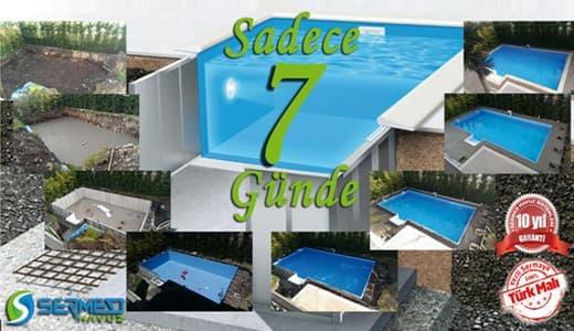 Betonarme Havuz ve Prefabrik Havuz Yapım Süresi